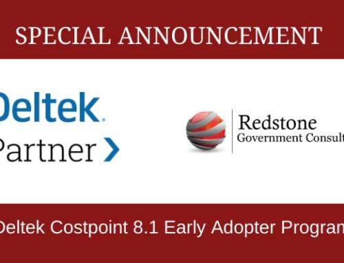 Redstone GCI is Participating in the Deltek Costpoint 8.1 Early Adopter Program